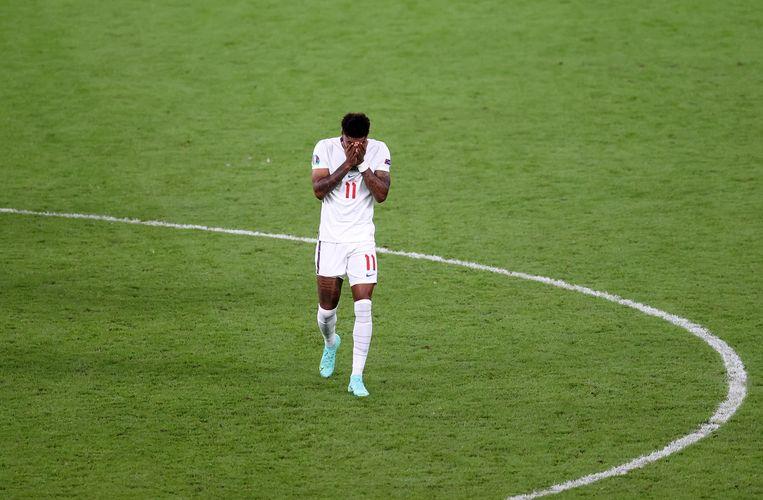 Marcus Rashford. Beeld UEFA via Getty Images