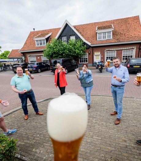 'Nen Trapper', een biertje uit Langeveen is een opsteker voor de lokale horeca