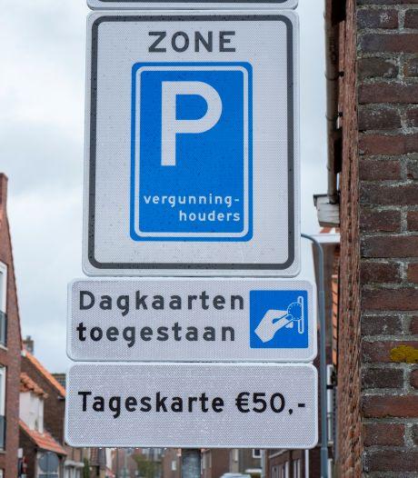 Verdeeldheid over parkeertarieven in Veere is te groot