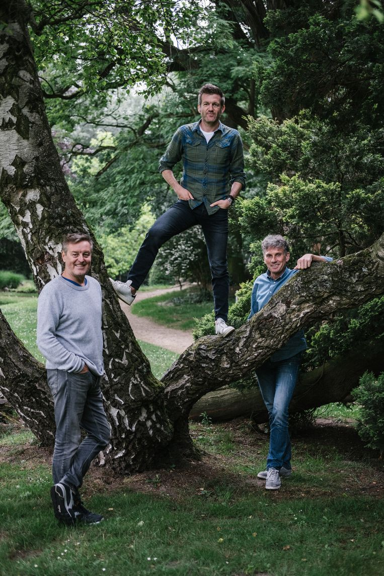 Frank Raes, Filip Joos en Peter Vandenbempt: