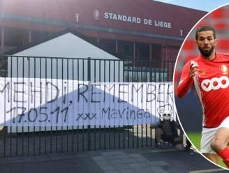 Genk-ultra's viseren Mehdi Carcela: spandoek op Sclessin verwijst naar doodschop van tien jaar geleden