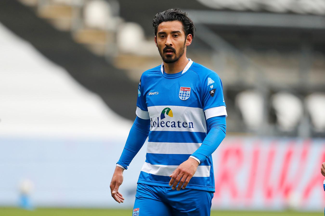 Reza Goochannejhad vertrekt na twee seizoenen bij Zwolle.