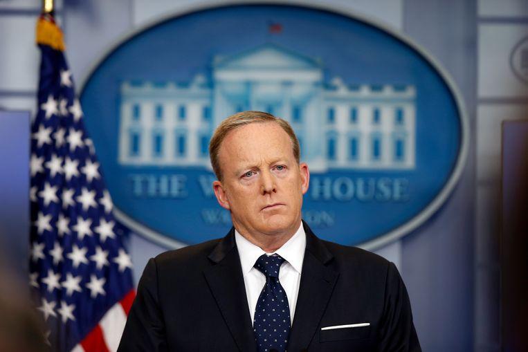 Sean Spicer. Beeld AP