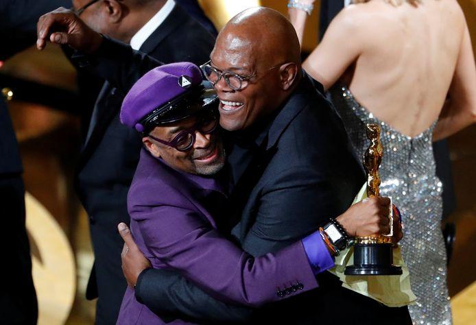 Spike Lee omhelst Samuel L. Jackson
