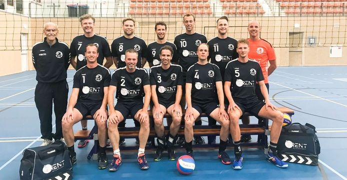 De volleyballers van Tweevv spelen volgend seizoen in de derde divisie.