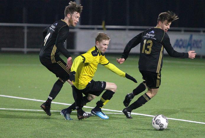 Colmschate'33 kwam ver in het bekertoernooi, in de vijfde ronde was FC Winterswijk na strafschoppen de betere.