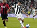 Juventus op 18e plaats na gelijkspel tegen AC Milan