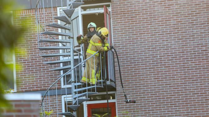 Bewoners naar buiten om brand in seniorencomplex Apeldoorn