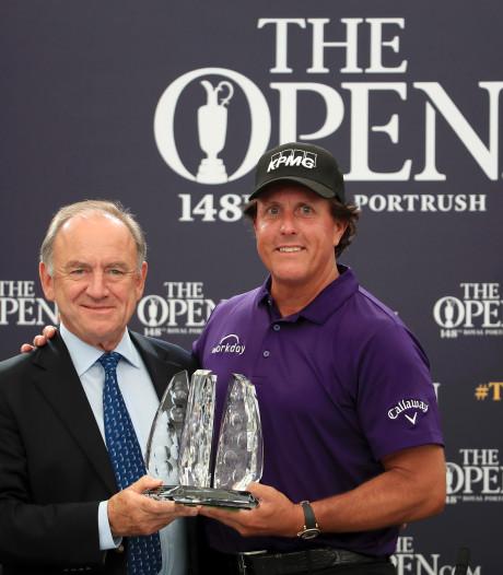 Golfer Mickelson 7 kilo kwijt na koffiedieet