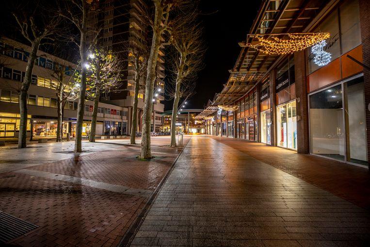 Het burgemeester loeffplein in Den Bosch. Beeld Raymond Rutting / de Volkskrant
