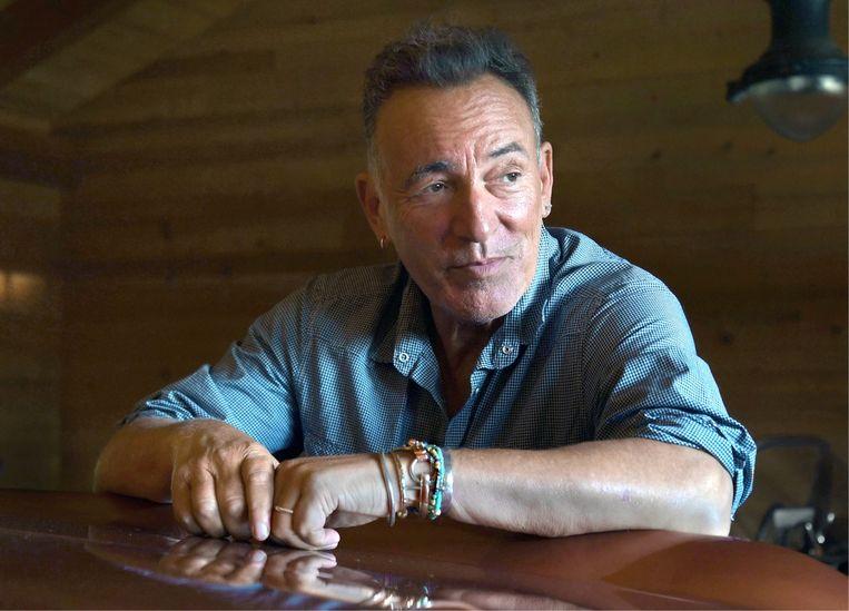 Bruce Springsteen: 'Ik leef voortdurend samen met de doden. Mijn vader, Clarence, Danny: ze wandelen naast mij. Hun energie resoneert in de fysieke wereld. Dat maakt het leven zo mooi.' Beeld