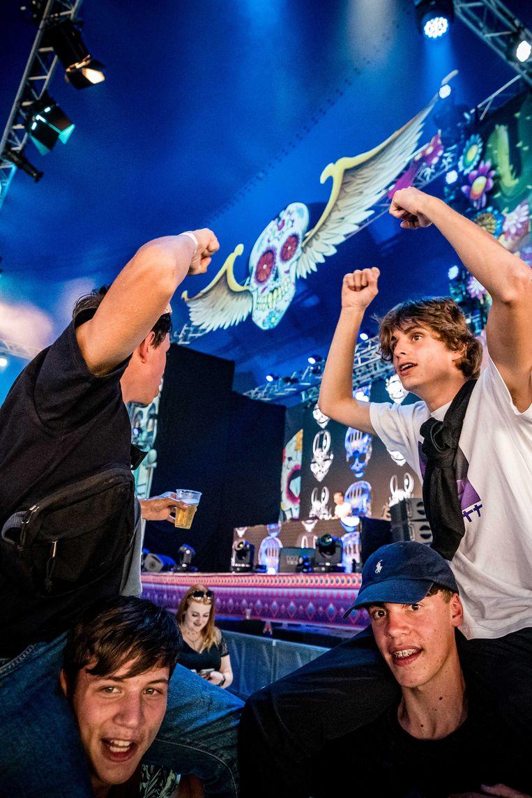 Het Stereo Sunday Festival in Venlo, begin deze maand.  Beeld ANP