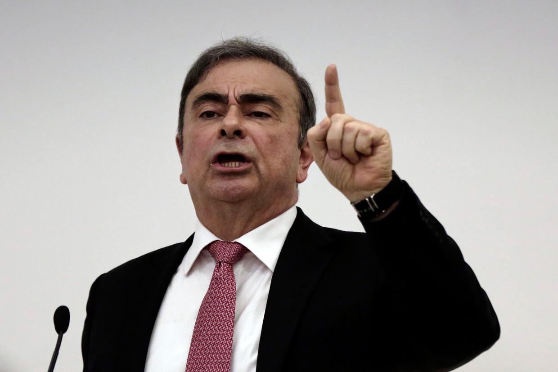 Voormalig topman van Nissan, Carlos Ghosn.