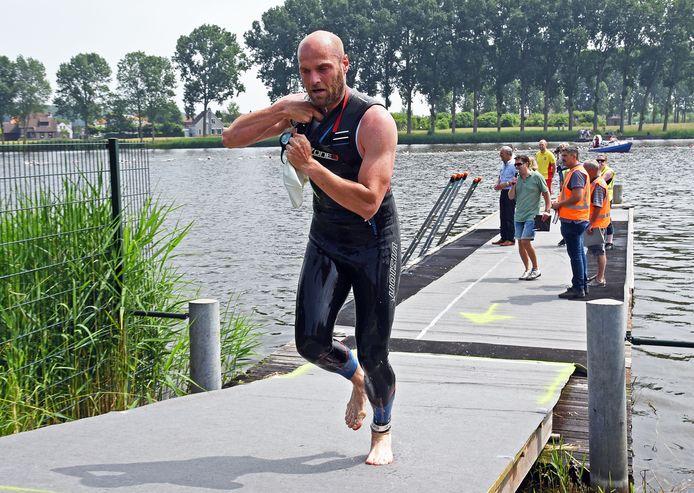 Dieter Staelens won vorige week in Terneuzen en was ook in Wilhelminadorp de sterkste.