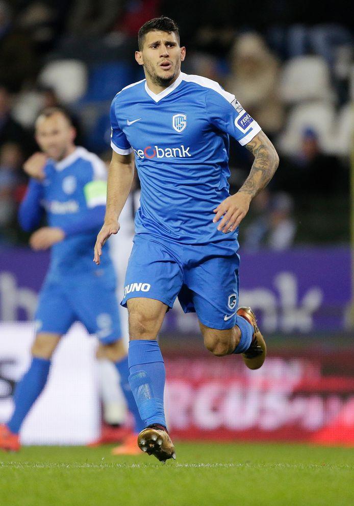 Nikos Karelis beleefde een succesvolle periode bij Racing Genk. In zijn eerste 52 wedstrijden voor de Belgische club scoorde hij 29 keer.