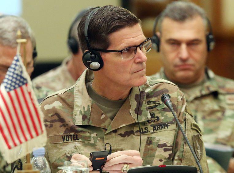 De hoogste militaire bevelhebber in het Midden-Oosten, Joseph Votel.