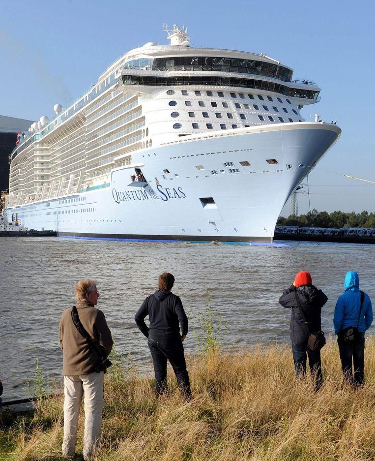 Internationale cruiseschepen met een casino aan boord mogen straks in onze wateren varen. Beeld EPA