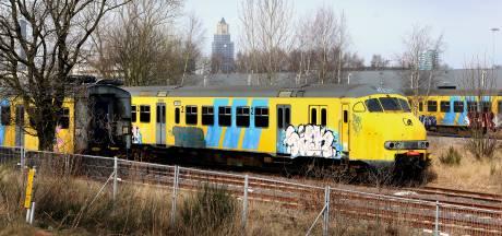 Nieuwe 'parkeerplaats' voor treinen NS bij Het Broek in Arnhem