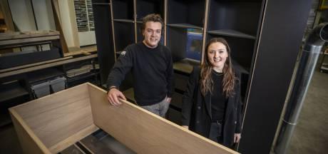 Ondernemer Lars Lulofs uit Oldenzaal timmert als jonge interieurbouwer aan de weg: 'Van mijn spaargeld kocht ik machines'