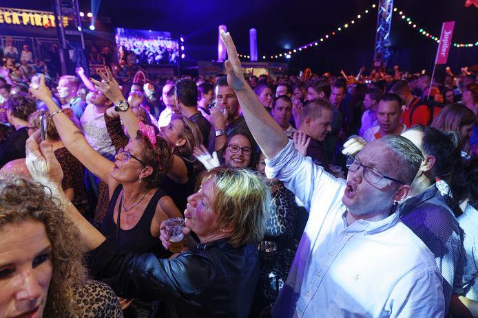 De eerste editie van het Mega Piraten Festijn in Maaskantje trok twee jaar geleden zo'n 6500 bezoekers.