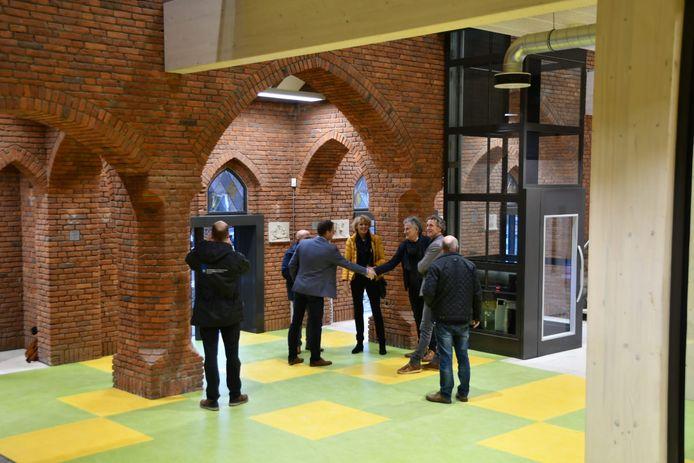Het verbouwde kerkgebouw in Esbeek is vrijdag opgeleverd.