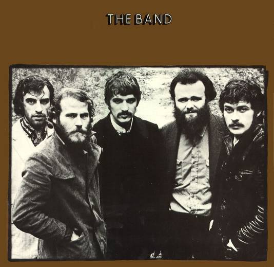 Albumhoes van The Band.