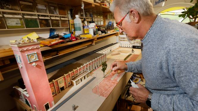 John (66) bouwt het Stationsplein van Nijmegen na: 'Af en toe een slapeloze nacht'