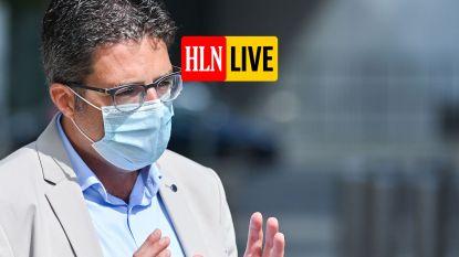 """LIVE. Van Gucht: """"Nog ver verwijderd van groepsimmuniteit"""" - WHO stuurt kat naar Covid-Kamercommissie - Nu al problemen bij lancering corona-app"""