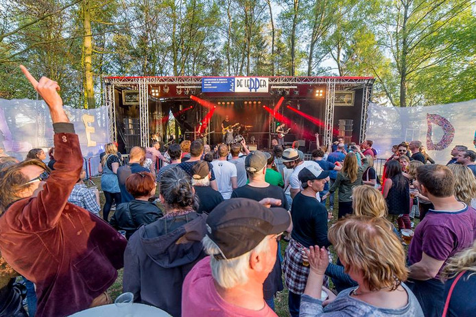 Een fragment van het Nollie Dollie festival in Diessen in 2016.