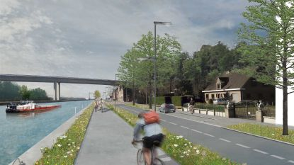 Nieuwe 5 km fietssnelweg wordt 'missing link' aan kanaal tussen Vilvoorde en Grimbergen