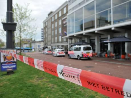 Gewapende overval op hotel Haarhuis Arnhem,  politiemacht grijpt verdachte op de vlucht