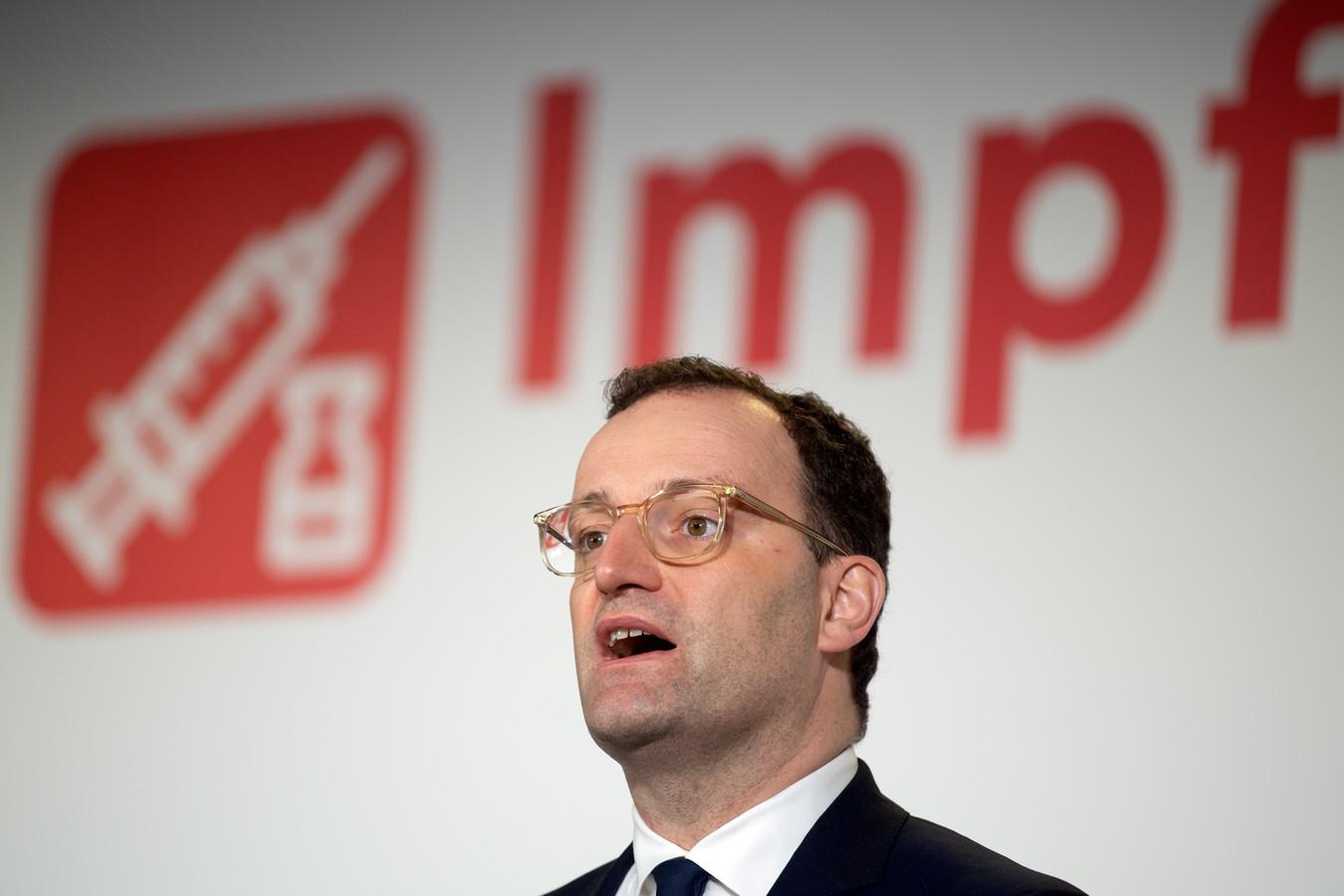 Jens Spahn, ministre allemand de la Santé.