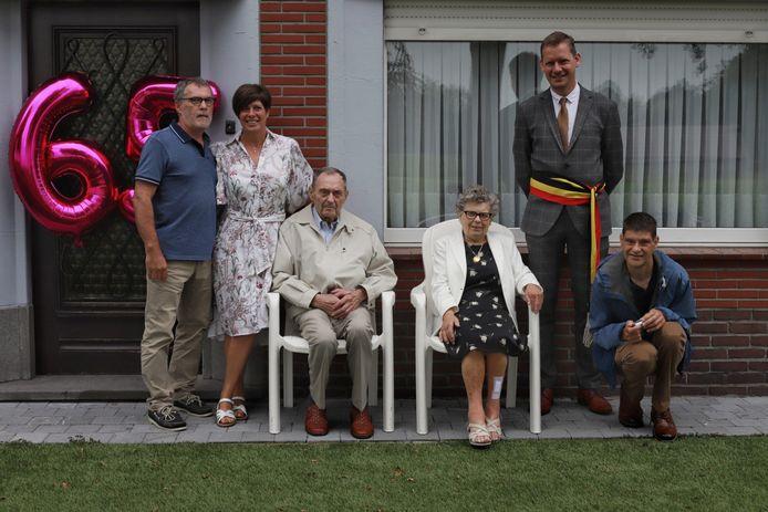 De familie De Reu werd gevierd.