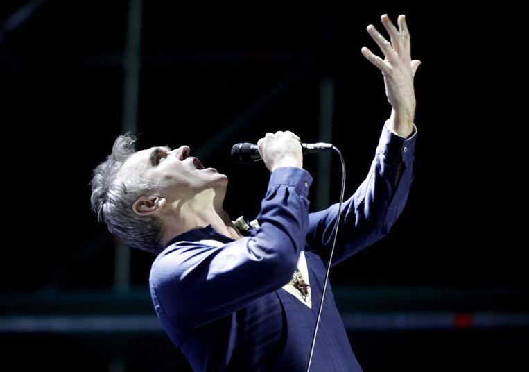 Morrissey in Chili, 2015. Beeld EPA