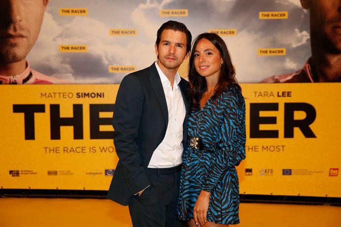 Matteo Simoni en vriendin Loredana.