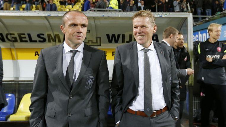 Alfred Schreuder (links) en Michel Jansen. Beeld pro shots
