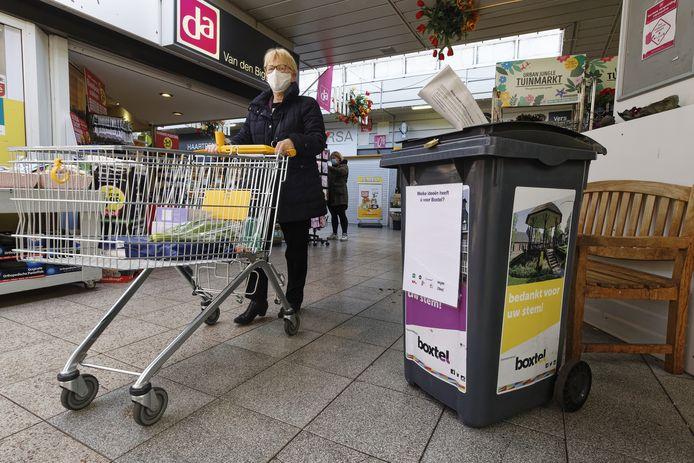 In winkelcentrum Oosterhof kunnen Boxtelaren hun vel vol wensen deponeren. Maar of dat een succes wordt?