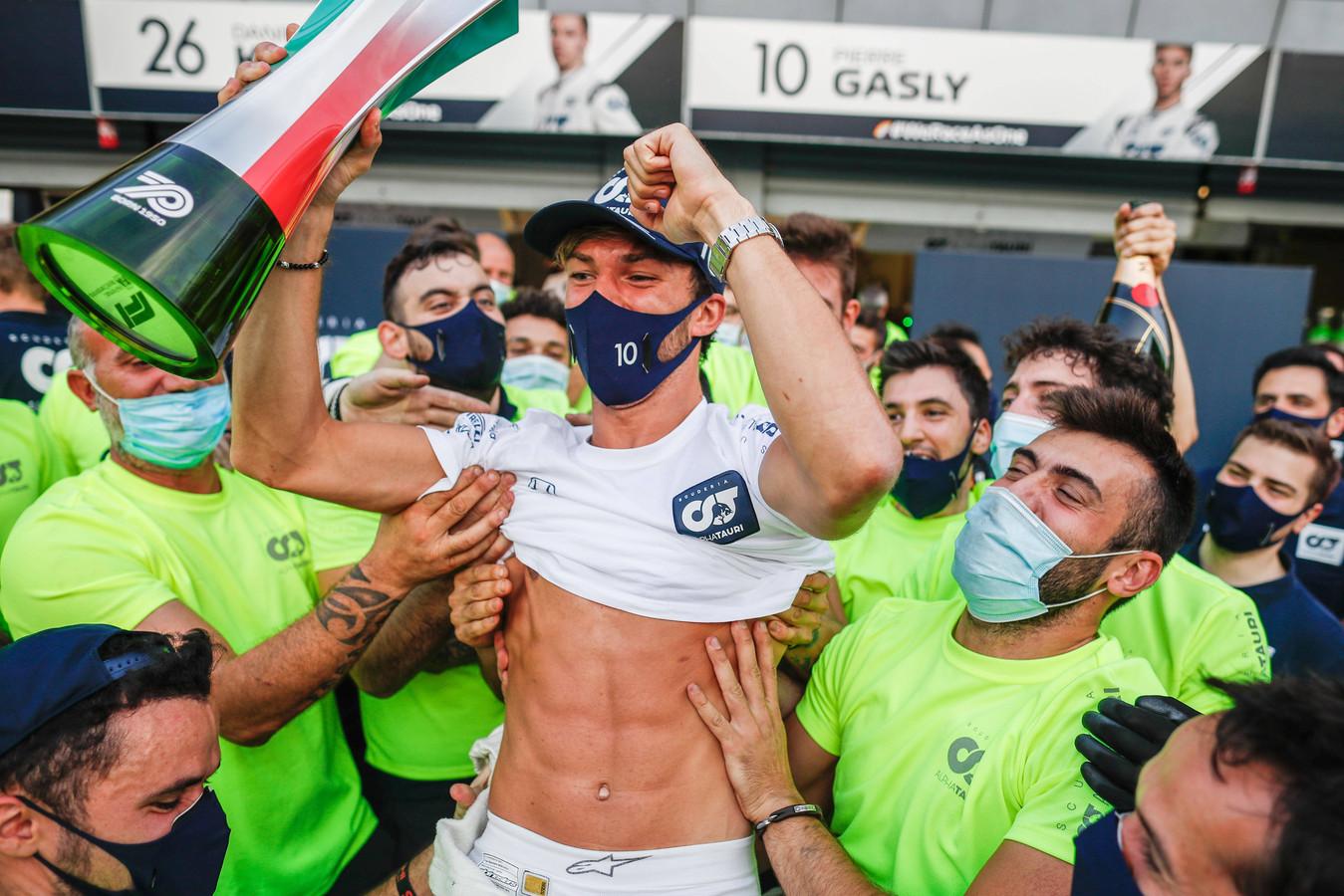 Dolle Pierre Gasly verbaasde vriend en vijand door een spectaculaire Grand Prix van Italië te winnen.