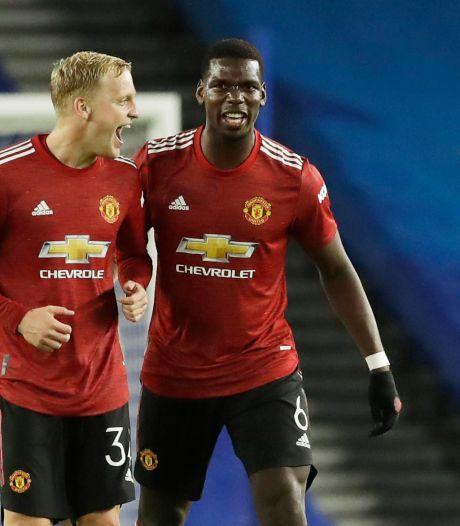 Van de Beek ziet concurrent uitvallen bij Manchester United