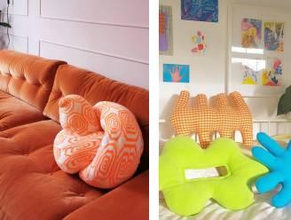 Kussens in wel erg ongewone vormen veroveren de sofa