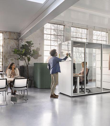 Stoelen voor thuis en stiltecabines op kantoor: Rooise kantoorinrichter Ahrend recht rug na coronaklap
