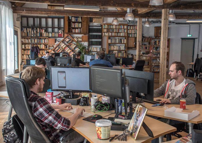 Livewall is een van de digitale bedrijven die meewerken aan de competitie Tailors' Den (archieffoto).