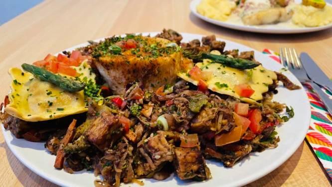LEKKER LOKAAL. Restaurant 't Alternatief: Lekker klassieke menu, vegetarische variant is tegenvaller