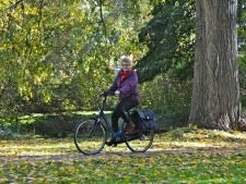 Met de e-bike naar mijn werk in het Albert Schweitzer ziekenhuis