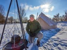 Manon (30) begint Scandinavische camping in de Achterhoek: 'Winterkamperen in een tipi, lekker toch?'