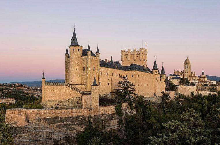 Alcazar de Segovia.