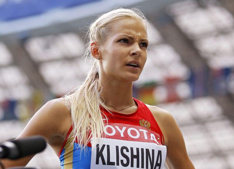 Klisjina mag onder neutrale vlag meedoen in Rio. Beeld epa