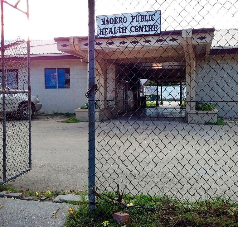 Een gezondheidscentrum op Nauru. Beeld AP