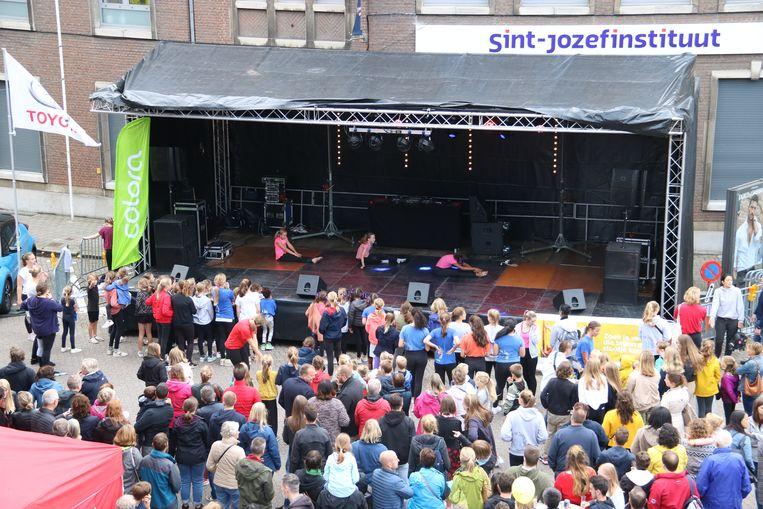 Een van de optredens