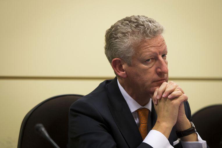 Ontslagnemend minister van Defensie Pieter De Crem (CD&V). Beeld BELGA